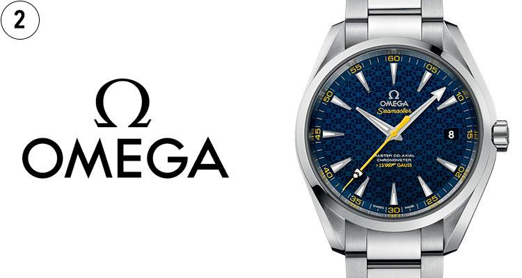 f9be296656d É a escolha de James Bond  cronometra as Olimpíadas desde 1932  e foi o  primeiro relógio usada na lua. Precisa dizer mais  Eis as credenciais da  Omega