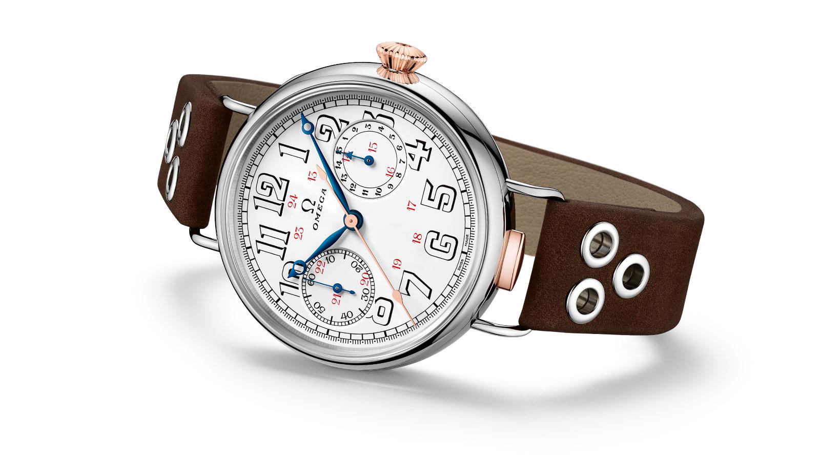 """7e81b57fc16 A história renasce com o """"First OMEGA Wrist-Chronograph Limited Edition"""""""