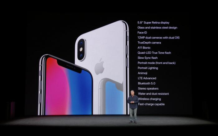 iphone x especificacoes 700x438