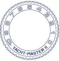 new yacht master ii bezel